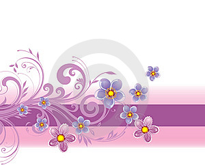 Floral Background Royalty Free Stock Photo - Image: 8502995