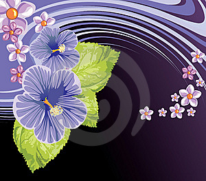 Floral Background Royalty Free Stock Images - Image: 8503119