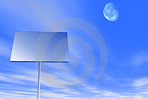 Billboard Stock Photo - Image: 8503440
