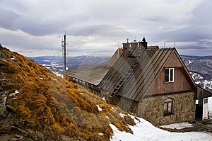 Mountain Hut Royalty Free Stock Image - Image: 8503696