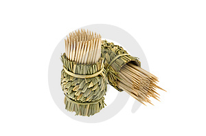 Bamboo Toothpicks Royalty Free Stock Photography - Image: 8503967
