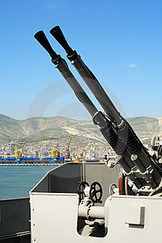 Antiaircraft Gun Stock Photo - Image: 8504220