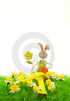 Cute Easter Bunny Stock Photography - Image: 8504602