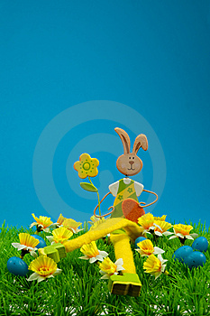 Cute Easter Bunny Royalty Free Stock Photography - Image: 8504617