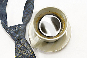 Tei And Black Coffe Stock Photo - Image: 8504750