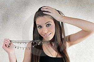 Colar Feminino Imagem de Stock - Imagem: 8504781