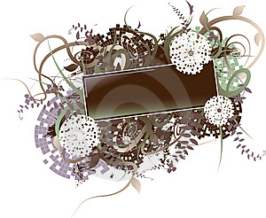 Floral Banner Stock Photos - Image: 8504823