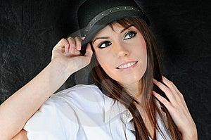 Modern Girl Stock Image - Image: 8505131