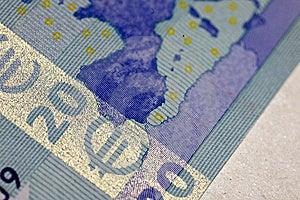 Twenty Euro Royalty Free Stock Image - Image: 8505206