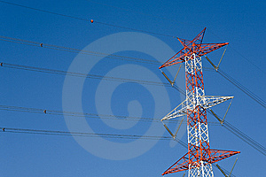 High Voltage Cables Stock Image - Image: 8505761