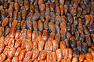 Dates Sur Un Marché Photo stock - Image: 8505870