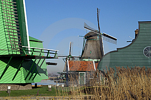Windmill For Grinding Pigments Stock Image - Image: 8505981