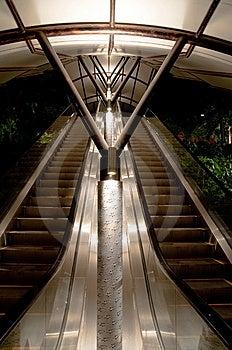 Sheltered Escalators Stock Photography - Image: 8506032