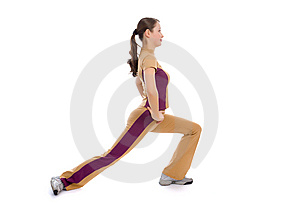 Young Female Doing Fitness Stock Photography - Image: 8506042
