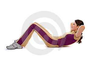 Young Female Doing Fitness Stock Photos - Image: 8506053