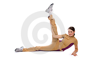 Young Female Doing Fitness Royalty Free Stock Photography - Image: 8506057