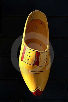 Wooden Shoe For Decoration Stock Photos - Image: 8506173