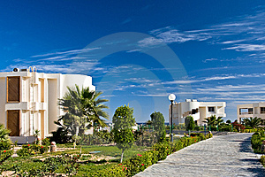 Resort With Bungalow Stock Photo - Image: 8506430