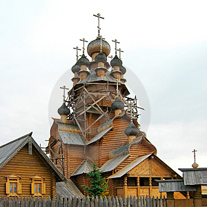 Wooden Church Of All Saints Stock Images - Image: 8506444
