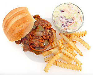 Sloppy Joe Homemade Stock Image - Image: 8506481