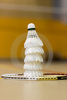 Badminton Birds Stock Images - Image: 8506814