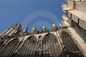 Cathedral Of Amiens Stock Photography - Image: 8506832