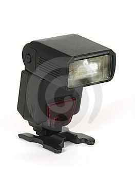 Flash Automático Negro Fotos de archivo libres de regalías - Imagen: 8506988