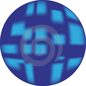 Blue Button (web Button Looking 3d) Royalty Free Stock Image - Image: 8507316