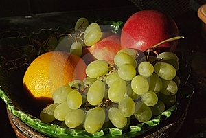 Still Life Of Fruit Royalty Free Stock Photography - Image: 8507547