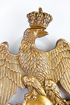 Bronze Eagle Close-up Royalty Free Stock Photos - Image: 8507748
