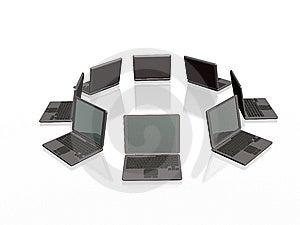 Grey Laptops Stock Photos - Image: 8508093