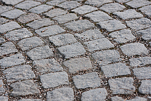 Cobbled Pathway Stock Photography - Image: 8508102