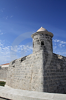 La Punta Castle In A  Summer Day, Habana Stock Image - Image: 8508511