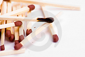 Burnt Match Royalty Free Stock Photography - Image: 8508797