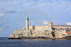 The Morro Lighthouse In Havana Bay Stock Images - Image: 8508914