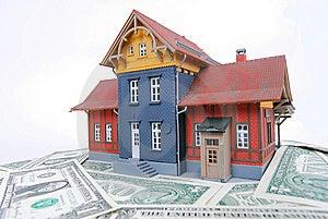 Haus Für Verkauf Lizenzfreie Stockfotografie - Bild: 8509587
