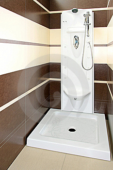 Brown Shower Angle Royalty Free Stock Photography - Image: 8509677