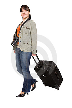 Travelling Woman Stock Images - Image: 8509694