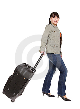 Travelling Woman Stock Image - Image: 8509701