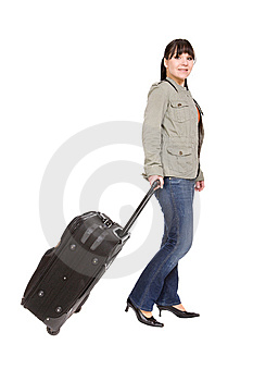 Travelling Woman Stock Images - Image: 8509704