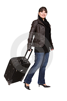 Travelling Woman Stock Images - Image: 8509734