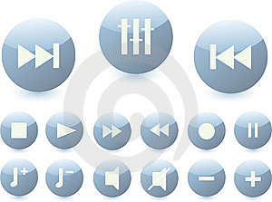 Buttons1 Stock Photos - Image: 8509773