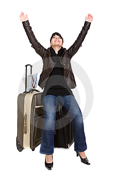 Travelling Woman Royalty Free Stock Photo - Image: 8509795