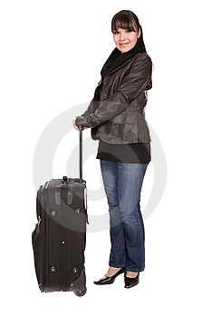 Travelling Woman Stock Images - Image: 8509804