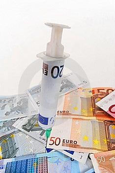 Sick Euro Royalty Free Stock Photo - Image: 8509845
