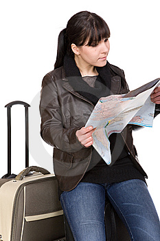 Travelling Woman Stock Photo - Image: 8509860