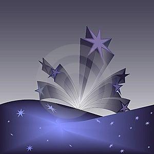Splash Of Stars Stock Image - Image: 8509921