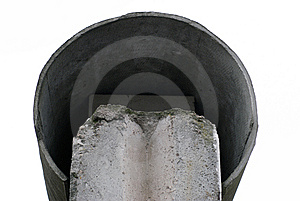 Top Of Wall Stock Image - Image: 8509951