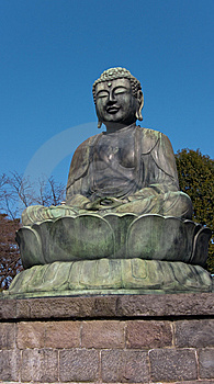 Sitting Buddha Statue Stock Photos - Image: 8510003