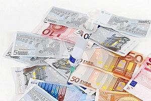 Sick Euro Royalty Free Stock Images - Image: 8510059